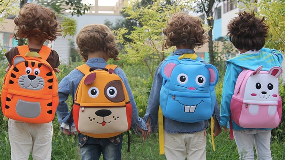 What do you keep in a Toddler's Backpacks?